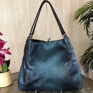 Coach Snake Embossed Madison Phoebe Bag F36627